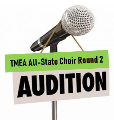 TMEA All-State Virtual Auditions-Round 2