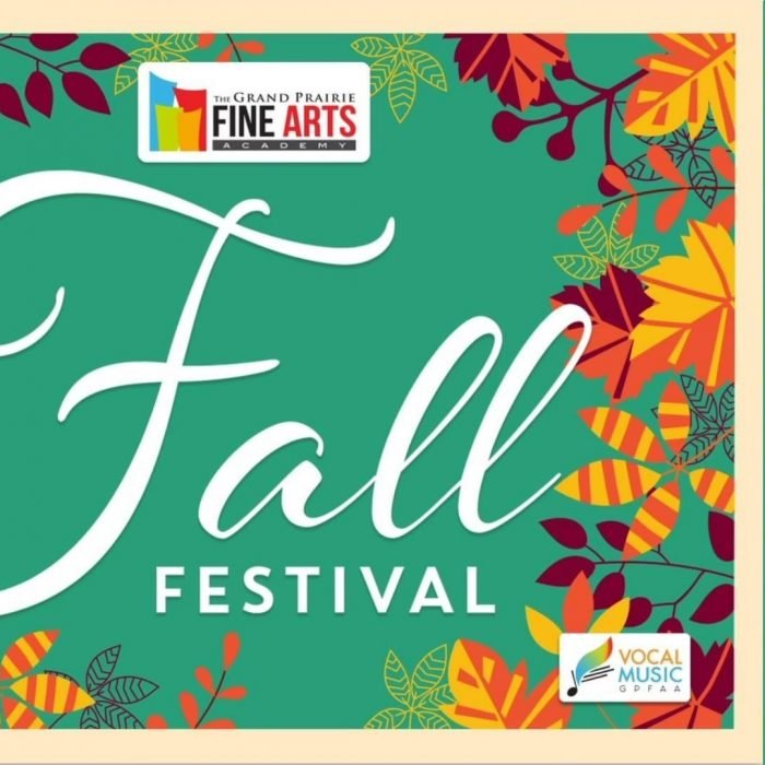 GPFAA Fall Festival Is Oct 30th  – Hosted by GPFAA Vocal Music